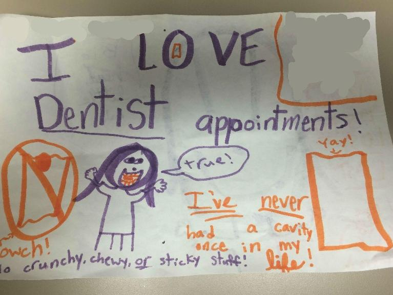 I love dentist appointments!